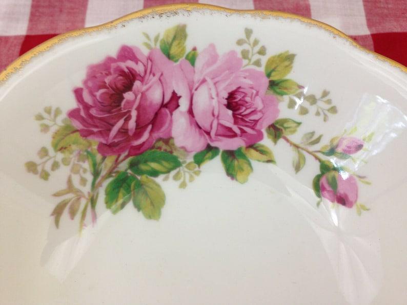 Royal Albert American Beauty 6 inch Soup Bowl Pink Roses Bone China