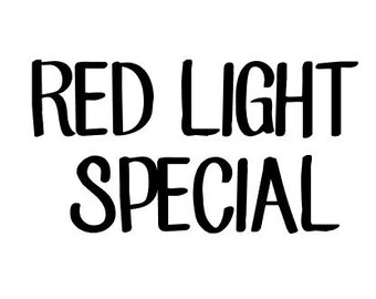 RED LIGHT SPECIAL - 10 grams mica