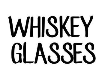 WHISKEY GLASSES- 10 grams mica