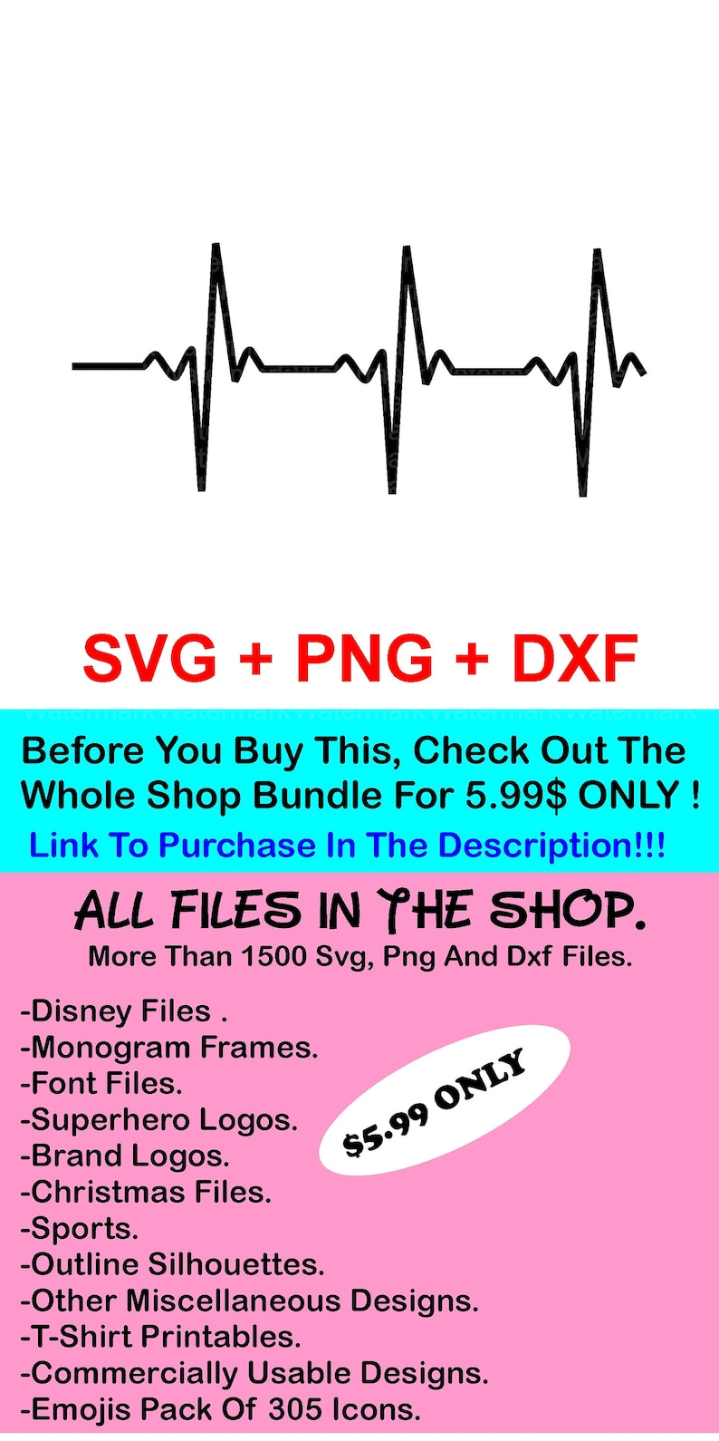 Heartbeat Svg, Png, Dxf, Heart Beat Svg, Heartbeat Pluse Svg, Heart Rate  Svg File, Nurse Svg, Doctor Svg, Cut File, Cricut, Silhouette