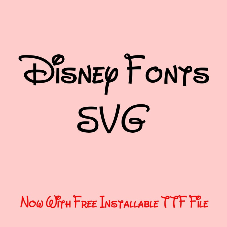Disney Font SVG, Walt Disney Font Svg, Disney Alphabet Svg, Disney Font  Cricut, Disney Font Silhouette, Cameo, Disney Clipart, Png, Dxf