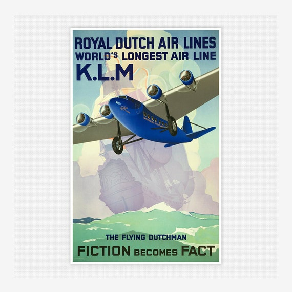 Vintage Pan Am Fly to Pakistan Airline Poster A3//A4 Print