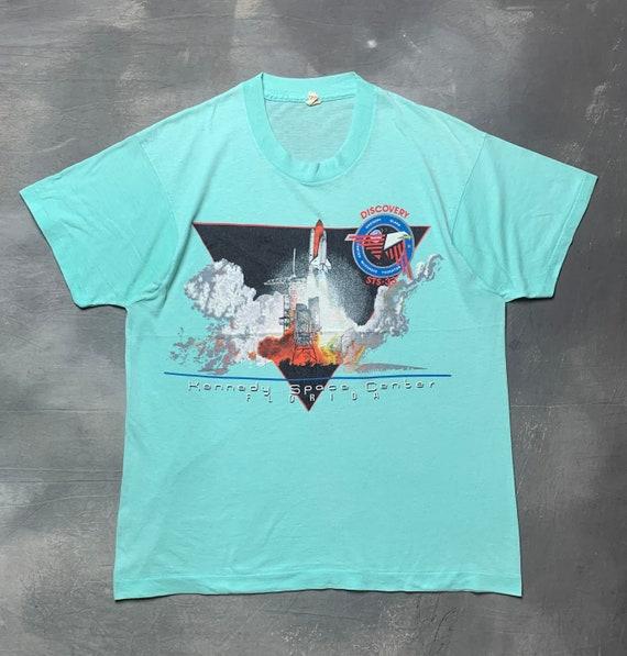 90s Paperthin Vtg Kennedy Space Center T Shirt/Vtg