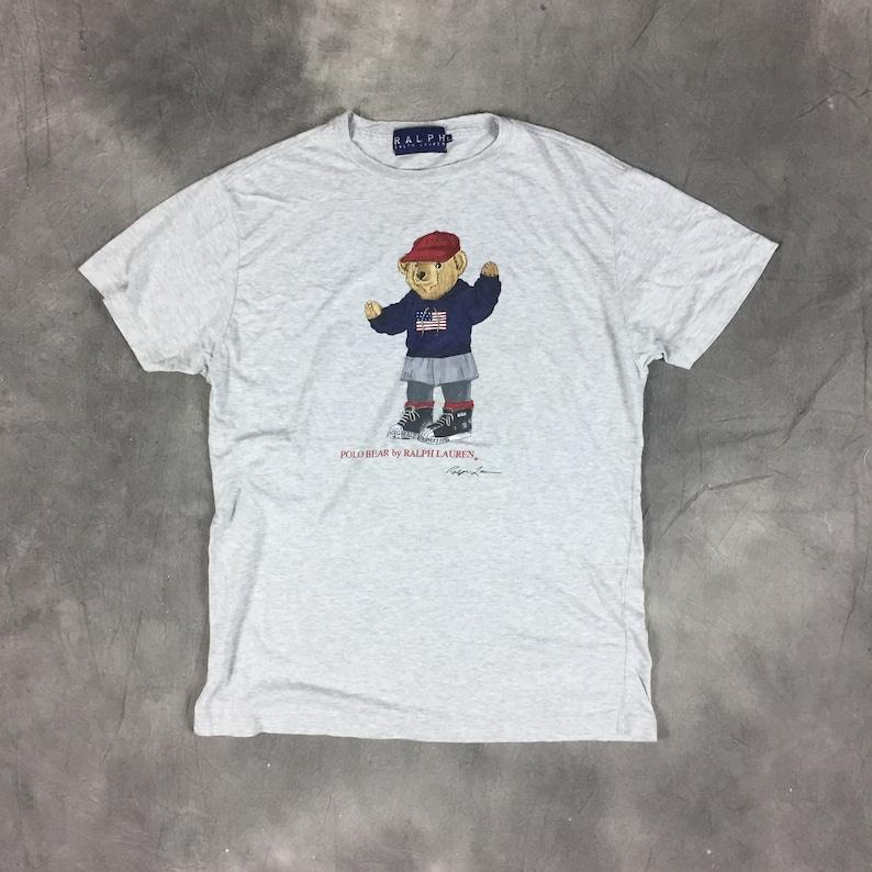 Ski Lohead Shirtvintage Polo Lauren 90s Ralph Rare Pwing Shirt T Streetwear Fashion Bear Og hCroxtsBQd