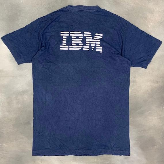 90s IBM T Shirt/Vtg 90s Software T Shirt/Vtg Apple