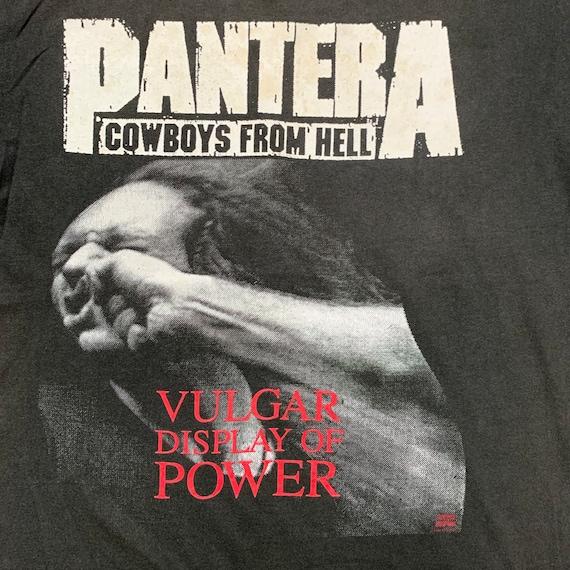 "Perfectly worn! 90s Pantera ""Vulgar Display of Po… - image 3"