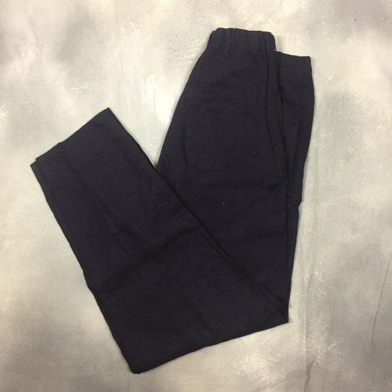 Yohji Yamamoto Y's for Men Casual Linen Pants/Yohj
