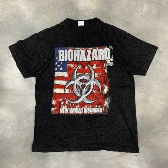 "00s Biohazard ""New World Disorder"" Promo T Shirt/9"