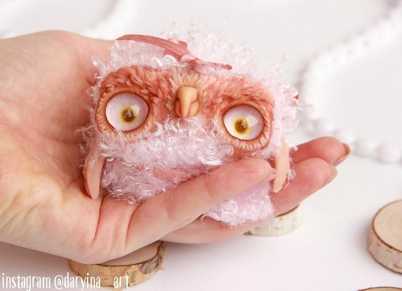 miniature teddy bear owlet pattern teddy bear owl knitting pattern PDF Toy owl Sewing PATTERN PDF