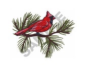 Cardinal Embroidery Design Machine Embroidery