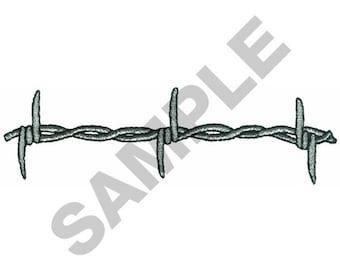 Barbed Wire Embroidery Design Machine Design 83d7e76ed283e