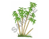 Bamboo Trees Embroider Design Machine Embroidery