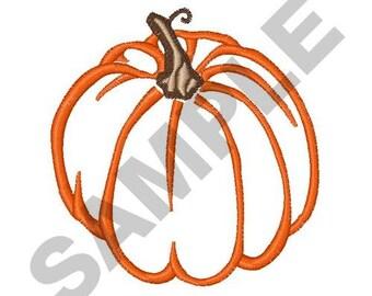 Pumpkin Applique Embroidery Design Machine Embroidery
