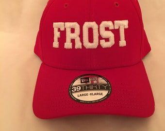 best service f90ff ba09f Support the Frost - Husker NewEra Cap