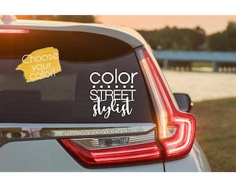 Color Street Stylist - Car - Laptop - Water Bottle - Phone - Sticker