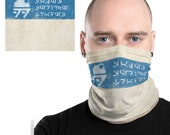 Galaxy's Edge Mubo's Droid Depot Face Mask - Sales Service Trades