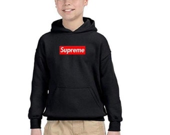 06133935415c Supreme kids youth pullover hoodie