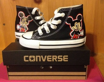 Hand Painted Mickey Mouse inspired TOMS- made to order c3950f7f0ad