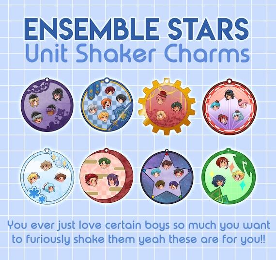 Ensemble Stars UNDEAD and KNIGHTS Mini Ita Bag Shake Charms x Namjatown Cat Festival 4in