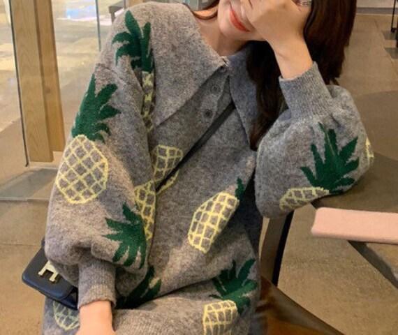 Autumn Winter Fruit Pineapple Chic Simple Retro| S