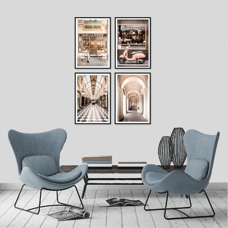 Cafe Wall Decor Set of 4 Melbourne Prints Melbourne Wall Art Australian Photography