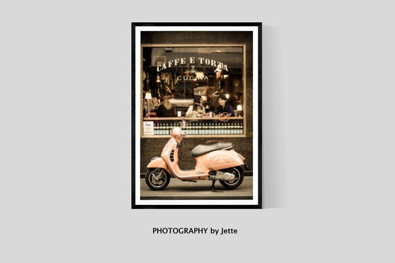 caffe e torta cafe melbourne photography kitchen decor | etsy