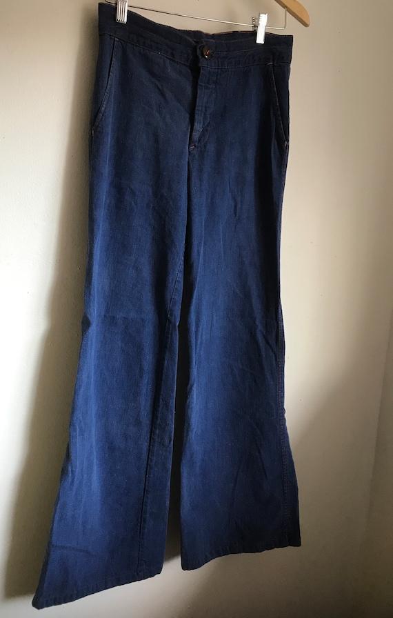 Landlubber vintage 1970s women's trousers jeans 26