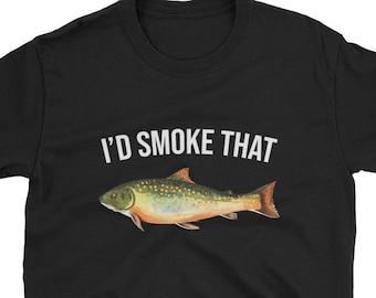 Dw Men And Fish Alike Fishing Stubby Holder Funny Novelty Birthday