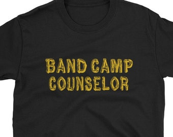 01fdcefd32 Band Camp Counselor / Funny Cute Youth Church Marching Band Tuba Trumpet  Percussion Clarinet Trombone Summer / Birthday Present Idea