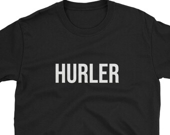 e1e98630 Hurler / Funny Cute Hurling Sport Sports Game Athlete Team Matching Ireland  Irish Ancient Camogie Gaelic / Birthday Present Idea Shirt / Uni