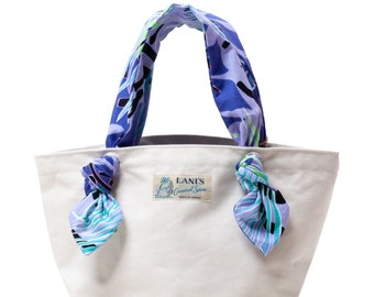 LANI'S General Store Ribbon Tote Bag / Made in Hawaii U.S.A.