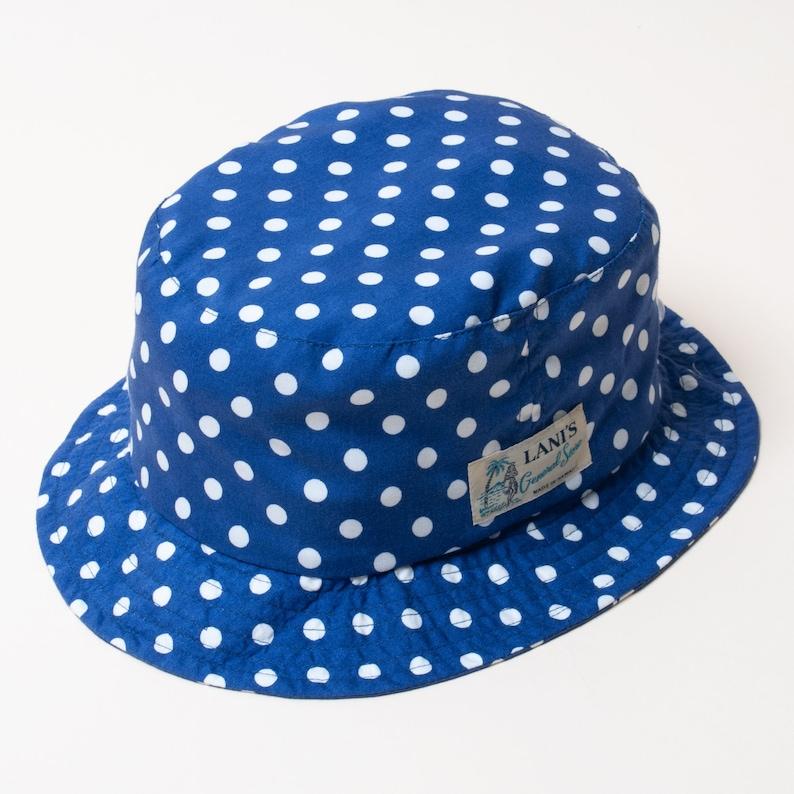 Made in Hawaii U.S.A. Polka Dot LANI/'S General Store Bucket Hat