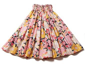 Hale No'eau by LANI'S General Store / 100% Cotton Pā'ū Skirt (CTBK-04) Made in Hawaii / Pa'u Skirt
