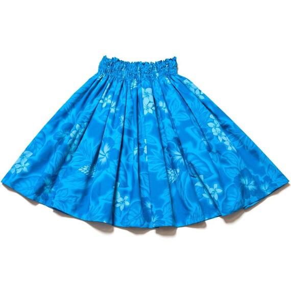 Made in Hawaii  Pa/'u Skirt Hale No/'eau by LANI/'S General Store  100/% Natural Cotton Batik P\u0101/'\u016b Skirt BTGY-01