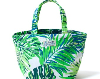 LANI'S General Store Tote Bag (Leaves) / Made in Hawaii U.S.A.
