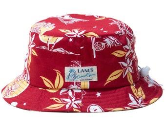 LANI'S General Store Bucket Hat (Moonlight) Made in Hawaii U.S.A.