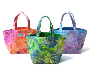 LANI'S General Store Tote Bag (Batik) / Made in Hawaii U.S.A.