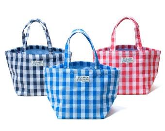 LANI'S General Store mini Tote Bags (Palaka) / Made in Hawaii U.S.A.