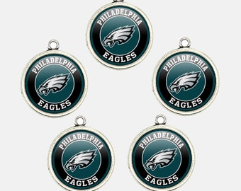375c1a2bb Philadelphia E.agles 20mm Football Charms for Bracelet Best DIY Jewelry  Making Pendants for Necklace Personalized Gift for Fans