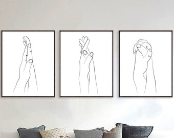 Hand art | Etsy