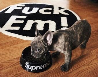 a4da87319d83b PREMEUM Supreme dog bowl reworked