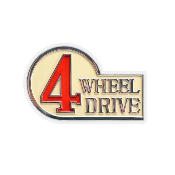 Dog in Car Decal White Sticker Vinyl Badge for Toyota Rav4 Landcruiser iQ Previa