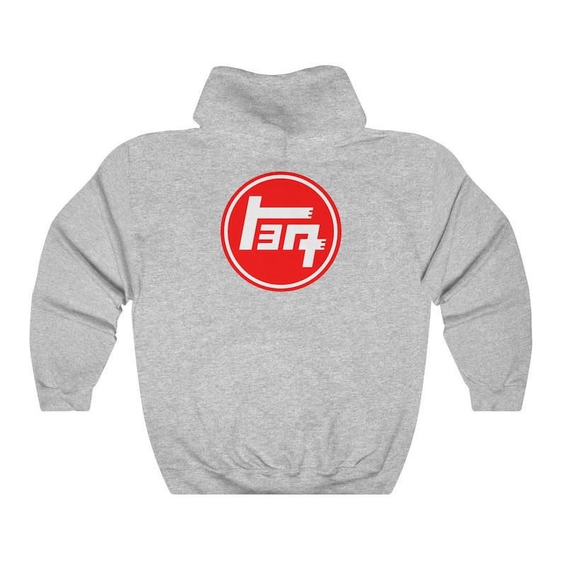 2047cf4f ... TEQ Hoodie with 4 Wheel Drive Logo Toyota Land Cruiser by image 2 ...