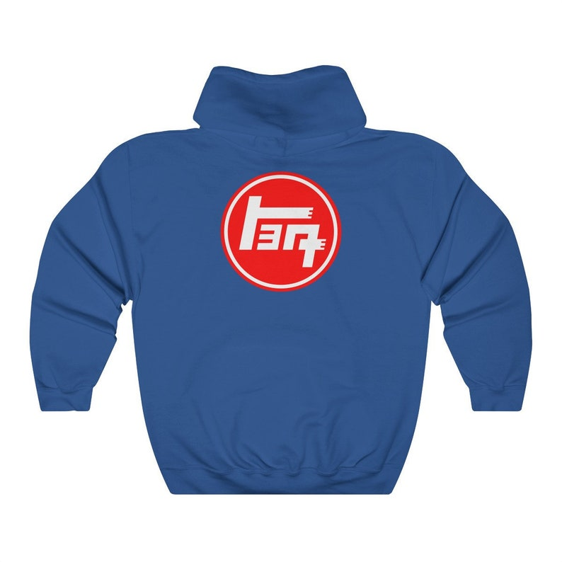 40d0b621 TEQ Hoodie with 4 Wheel Drive Logo Toyota Land Cruiser by image 0 ...