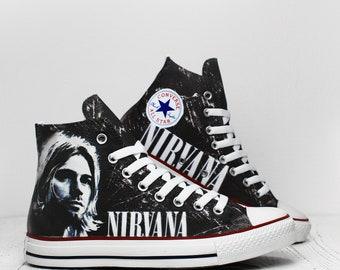 Nirvana Converse | Etsy