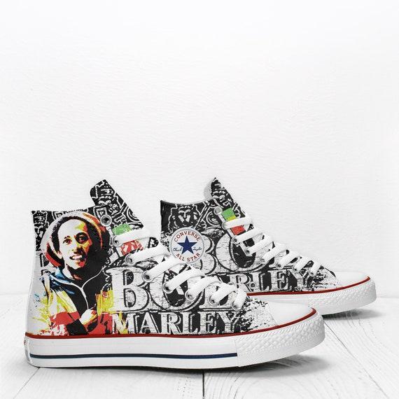Bob Marley Sneakers Custom Personalized
