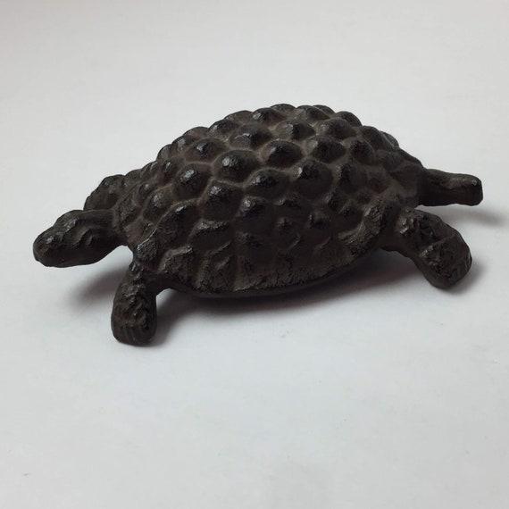 Abbott Collection Dark Brown Cast Iron Turtle