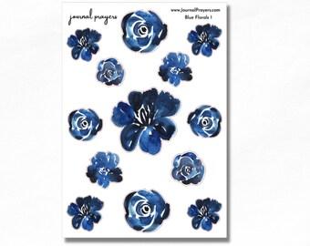 Blue Florals 1