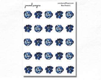 Blue Florals 2