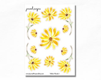 Yellow Florals 1